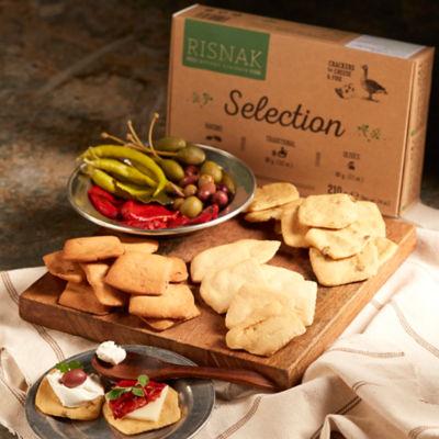Artisan Tapas Crackers - Variety Pack