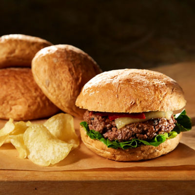 Spelt Burger Rolls from Galicia (8 Rolls)