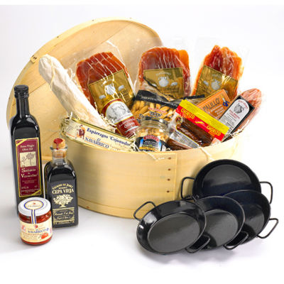 Supreme Tapas Party Basket