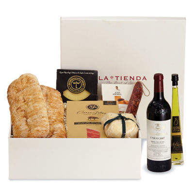 Spanish Luxury Gift Box (with Wine)