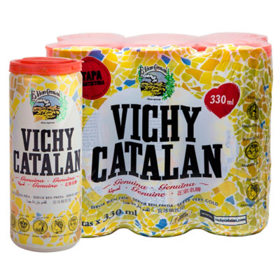 Vichy Catalan Mineral Water - 6 Cans