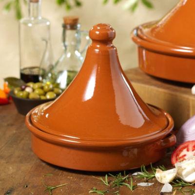 Tagine Terra Cotta Cookware - 10 Inches