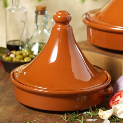 Tagine Terra Cotta Cookware (12.5 Inch Diameter)