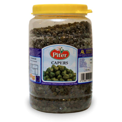 Capers in Sea Salt - Extra Large 35.2 Ounce Jar