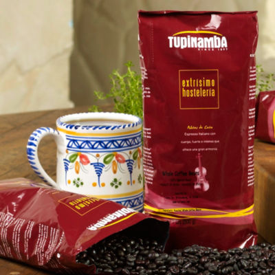 100% Torrefacto Whole Bean Coffee by Tupinamba