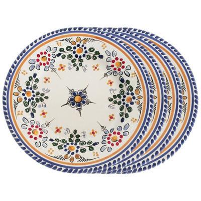 Sale Set of 4 Tapas Plates - 7 Inches each  sc 1 st  La Tienda & Flor Tapas Plates - 7 Inches (Set of 4)