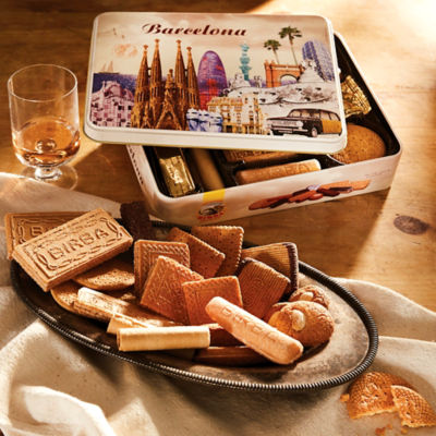 'Barcelona' Gift Tin of Spanish Cookies