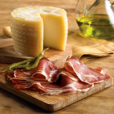 Artisan Young Manchego Plus Sliced Serrano Ham