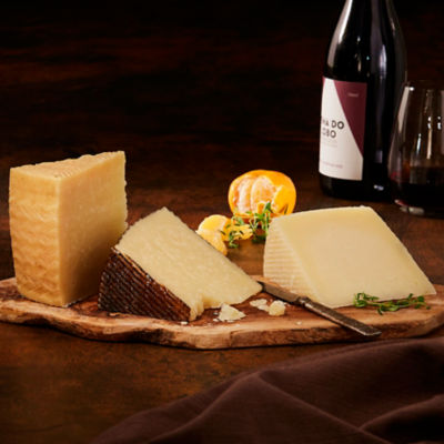 Artisan Manchego Cheese Flight by Peregrino - 3 Wedges