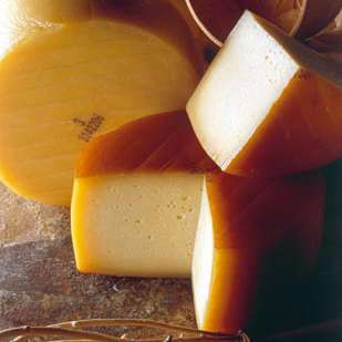 Idiazábal Sheep's Milk Cheese, Lightly Smoked - 10 Ounces