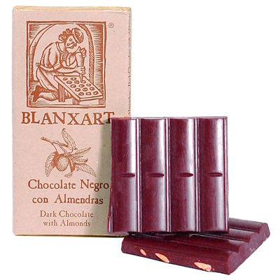 Dark Chocolate with Marcona Almonds by Blanxart