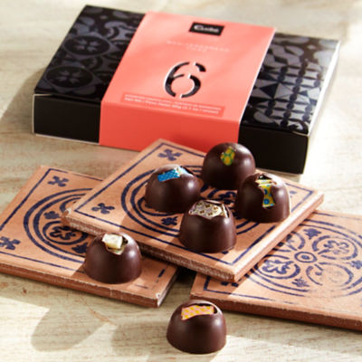 Mediterranean Tiles Chocolate Bonbon Gift Box by Cudié
