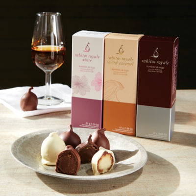 Trio of Rabitos Royale Gourmet Fig Bonbons (9 Piece Total)