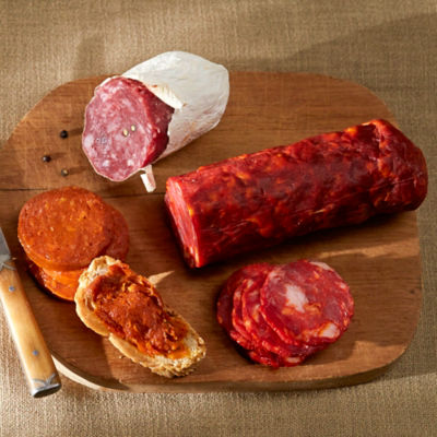 Slicing Chorizo