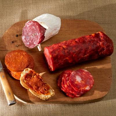 Slicing Sampler of Spanish Sausages