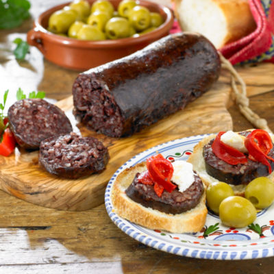 2 Packages of Morcilla de Burgos - Black Sausage with Rice