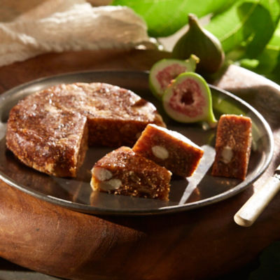 Fig Cake with Whole Almonds
