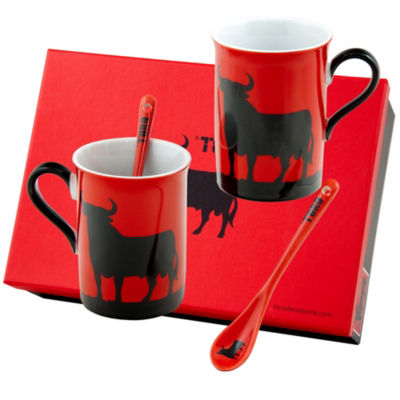Osborne Toro Mugs with Spoons