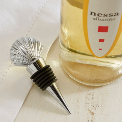 Shell Wine Stopper