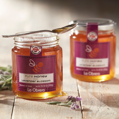 Lavender Blossom Honey by La Obrera
