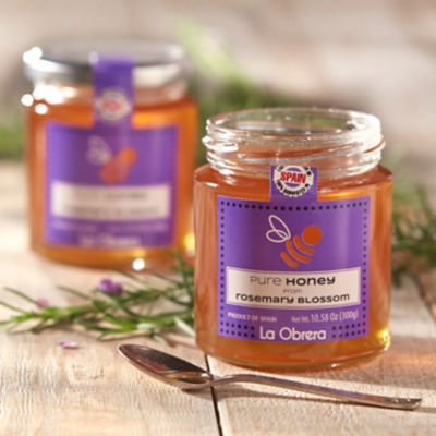 Rosemary Blossom Honey by La Obrera