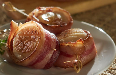 Ibérico de Bellota Bacon Wrapped Scallops
