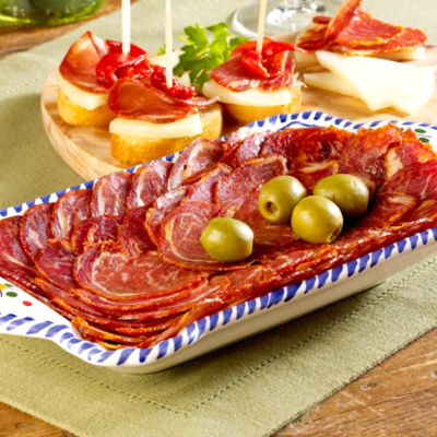 Sliced Lomo Ibérico de Bellota by Fermín
