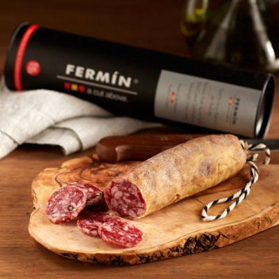 Salchichón Ibérico de Bellota Sausage by Fermín in Gift Package