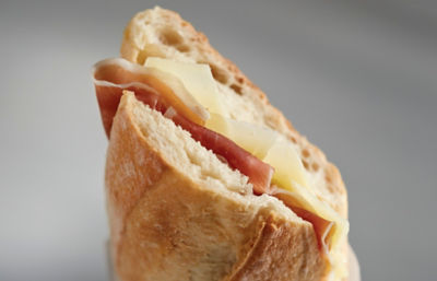 Jamón Serrano and Manchego Cheese Sandwich