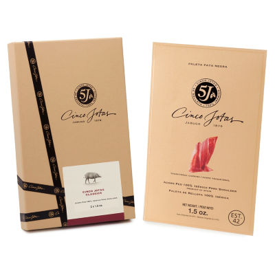 Gift Pack of Sliced Ibérico de Bellota by 5J - Cinco Jotas