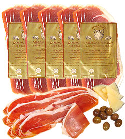 5-Pack Hand-Sliced Serrano Ham