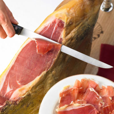 Bone-In Jamón Serrano by Monte Nevado - FREE HOLDER + FREE SHIPPING!