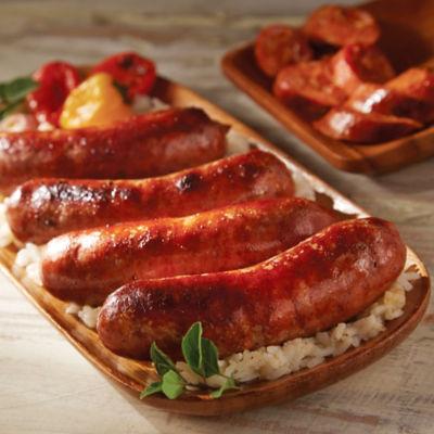 Puerto Rican-Style Longaniza Cooking Sausage