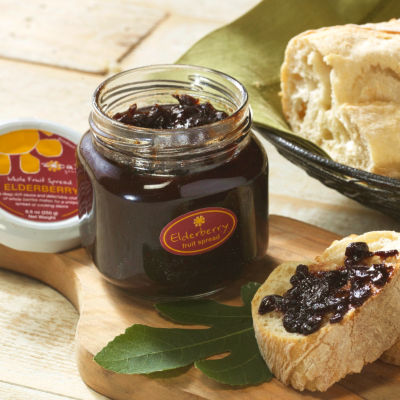 Elderberry Whole Fruit Spread