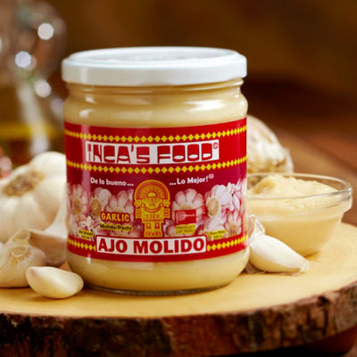 Creamy White Garlic Paste from Peru