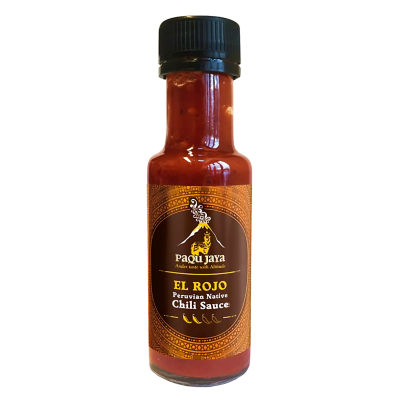 Paqu Jaya 'El Rojo' Native Chili Sauce from Peru