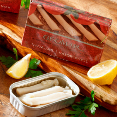 Navajas - Gourmet Razor Clams from Chile by Geomar