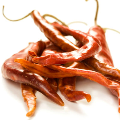 Dried Arbol Peppers from Mexico