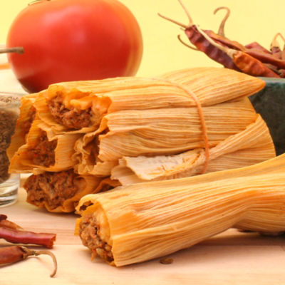 Hoja para Tamal Enconchada - Corn Husks for Tamales