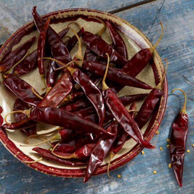 Dried Puya Peppers from Mexico