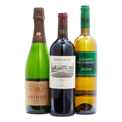 Holiday Dinner Wine Pairings Collection (3 Bottles)