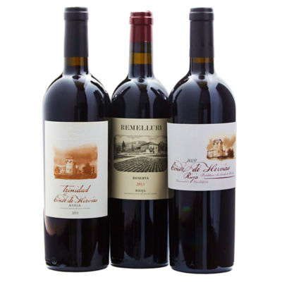 Rioja Reserve Red Wine Collection (3 Bottles)