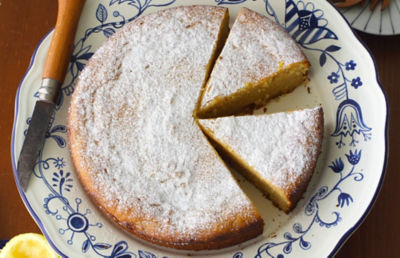 Marcona Almond Citrus Olive Oil Cake Recipe