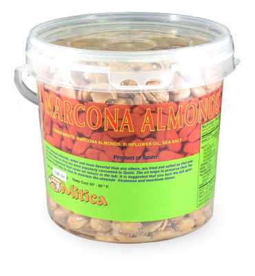 Marcona Almonds with Sunflower Oil (2.86 Pounds)