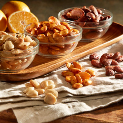 Trio of Gourmet Almonds by Peregrino