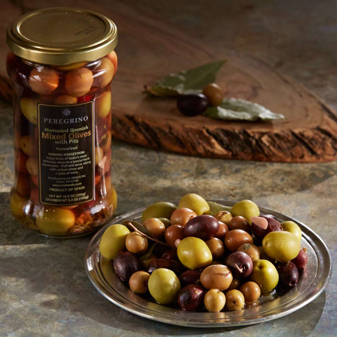 Spanish Mixed Olives by Peregrino