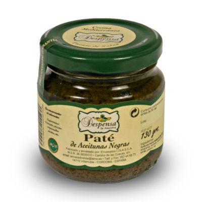 Gourmet Black Empeltre Olive Pate