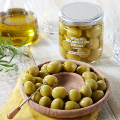 Manzanilla Olives with Pits