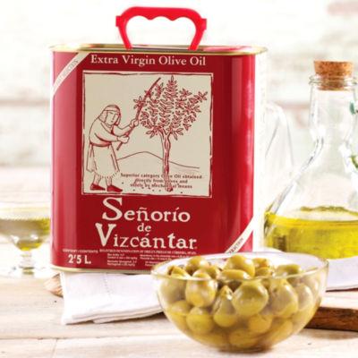 Señorío de Vizcántar Extra Virgin Olive Oil (2.5 Liters)