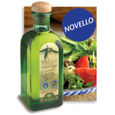 'Novello' Wild Extra Virgin Organic Olive Oil by Can Solivera